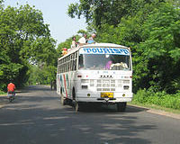 Reaching Coorg By Bus